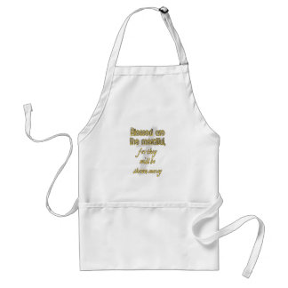 Blessed Are The Merciful Adult Apron