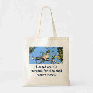 Blessed are the merciful tote