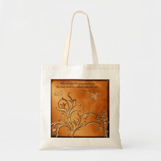 Blessed are the Peacemakers Canvas Bag