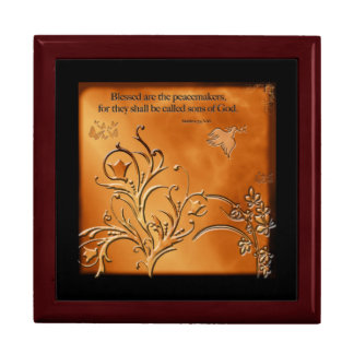 Blessed are the Peacemakers Jewelry Box