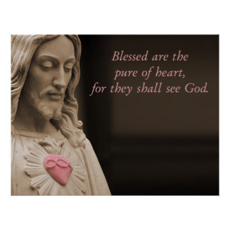 Blessed Are The Pure of Heart Poster