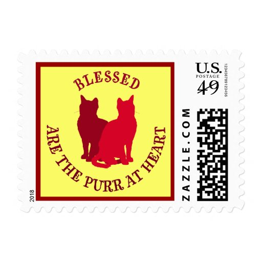 Blessed Are The Purr At Heart Stamps