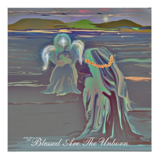 Blessed Are The Unborn Poster
