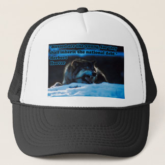 Blessed are the Young Trucker Hat