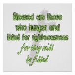 Blessed Are Those Who Hunger Print