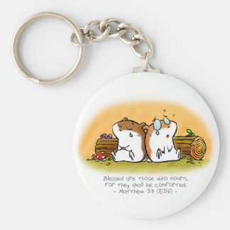 Blessed Are Those Who Mourn Keychain
