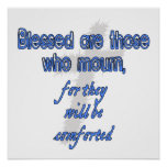 Blessed Are Those Who Mourn Poster