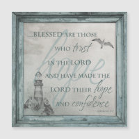 Blessed are Those Who Trust in the Lord Magnet