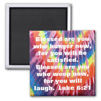Blessed are you bible verse magnet