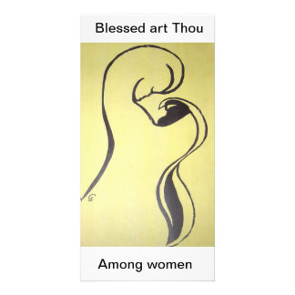 Blessed art Thou  Among women Card