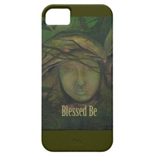 Blessed Be Art Statue Witch Angel iPhone 5 Cases