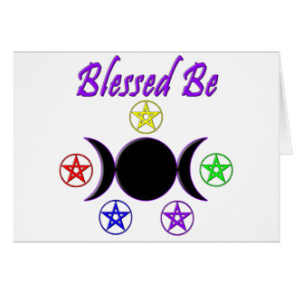Blessed Be Card