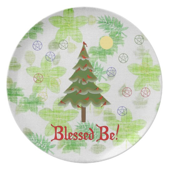 Blessed Be Dinner Plate
