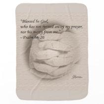 Blessed be God Baby Blanket