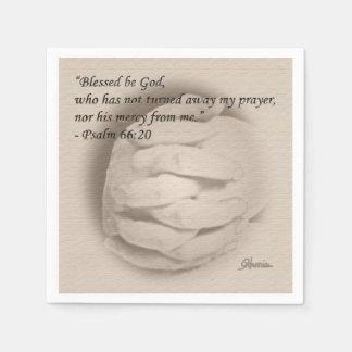 Blessed Be God Napkins Paper Napkin