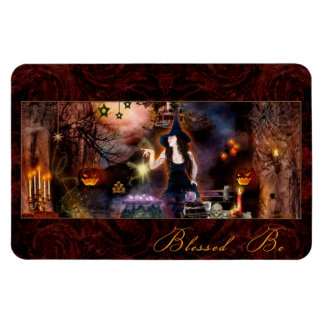 Blessed Be Magickal Witch Flexi Magnet