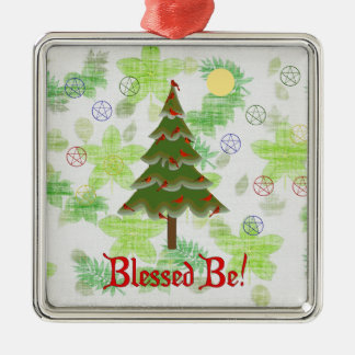 Blessed Be Metal Ornament