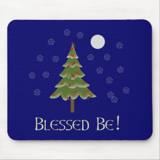 Blessed Be Mouse Pad