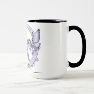 Blessed be pentagram coffee mug