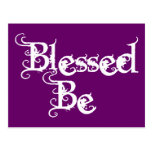 Blessed Be Post Card