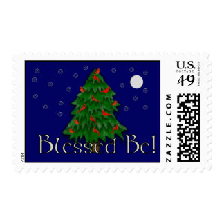 Blessed Be Postage Stamp