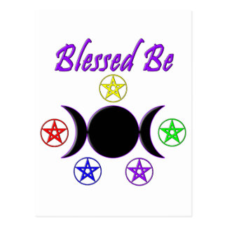 Blessed Be Postcard