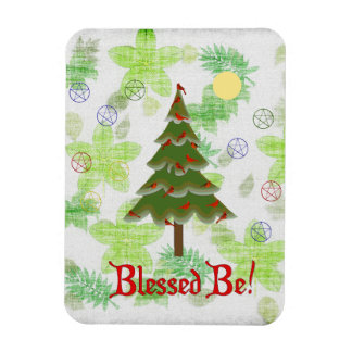 Blessed Be Rectangular Photo Magnet