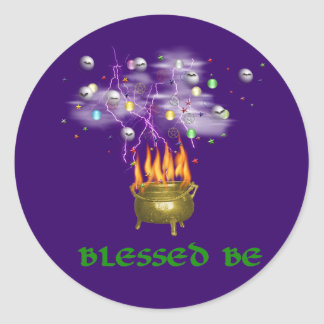 Blessed Be Stickers