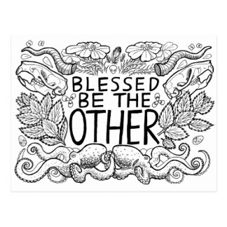 Blessed Be the Other Postcard