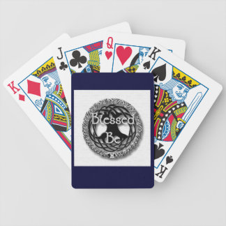 Blessed Be / Tree of Life Playing Cards