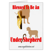 BLESSED BE UNDER SHEPHERD LT CARD