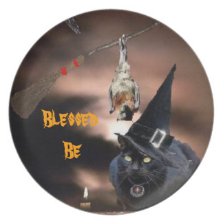 Blessed Be  your Kitchen skills Melamine Plate