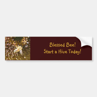 Blessed Bee Bumper Stickers