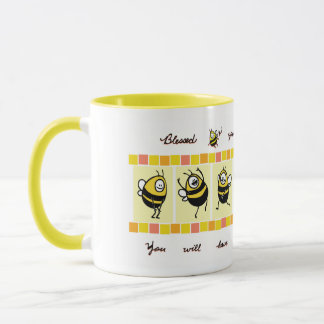 Blessed Bee© The Merciful - Yellow Mug