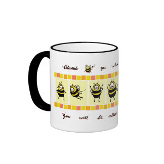 Blessed Bee© The Peacemakers Ringer Mug