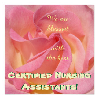 Blessed Best Certified Nursing Assistants posters