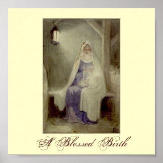 Blessed Birth Print