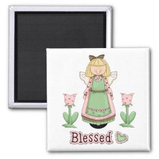 Blessed Blonde Angel Magnet