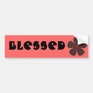 Blessed Bumper Stickers