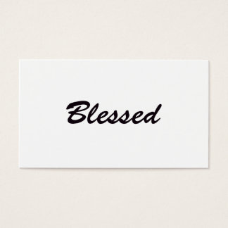 Blessed Business Card