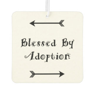 Blessed by Adoption - Foster Care Air Freshener