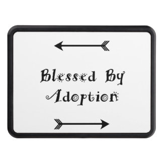 Blessed by Adoption - Foster Care Tow Hitch Cover