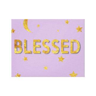 Blessed Canvas Bedroom Art