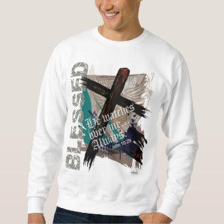 Blessed - Christian Bible Scripture John 10:29 Sweatshirt