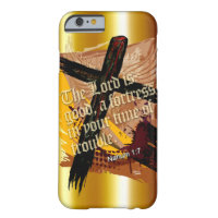 Blessed Christian Bible Scripture Nahum 1:7 Barely There iPhone 6 Case