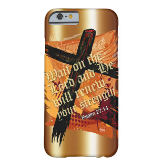 Blessed Christian Bible Scripture Psalm 27:14 Barely There iPhone 6 Case