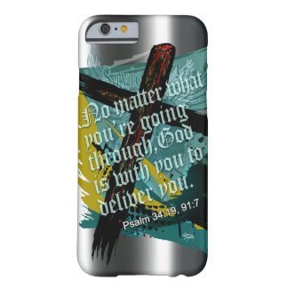 Blessed Christian Bible Scripture Psalm 34:19 91:7 Barely There iPhone 6 Case
