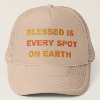 Blessed Earth Trucker Hat