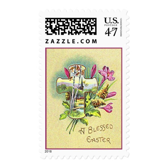 BLESSED EASTER by SHARON SHARPE Postage