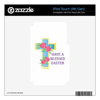 Blessed Easter Skin For iPod Touch 4G